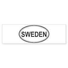 Sweden Euro Bumper Bumper Sticker
