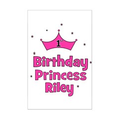 1st Birthday Princess Riley! Posters
