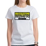 Waiting For Friday NJ Plate Women's T-Shirt