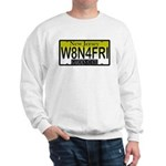 Waiting For Friday NJ Plate Sweatshirt