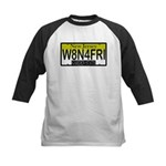 Waiting For Friday NJ Plate Kids Baseball Jersey