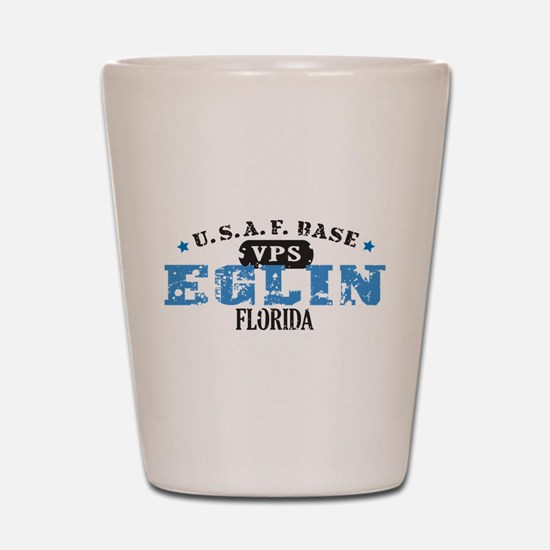 Eglin Air Force Base Shot Glass