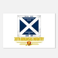 30th Arkansas Infantry Postcards (Package of 8)