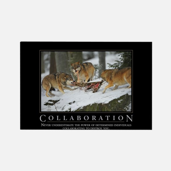 Collaboration Rectangle Magnet