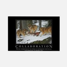 Collaboration Rectangle Magnet (100 pack)