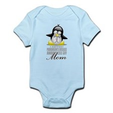 Parkinson's Penguin for Mom Infant Bodysuit