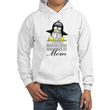 Parkinson's Penguin for Mom Hoodie