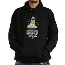 Parkinson's Penguin for Wife Hoodie
