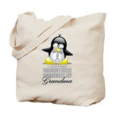 Parkinson's Penguin for Grand Tote Bag