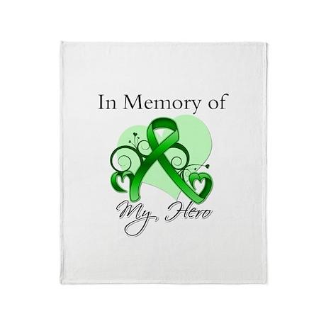 In Memory Hero Bile Duct Throw Blanket