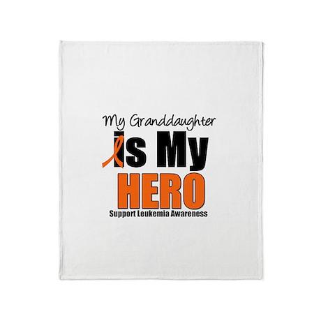 Leukemia Hero (GD) Throw Blanket