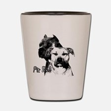 Two tone bully design Shot Glass