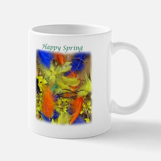 Spring Feathers Mug