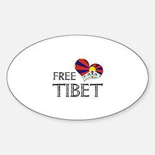 Free Tibet Decal