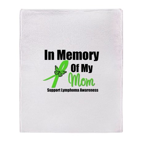 In Memory of My Mom Throw Blanket