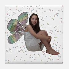 Sparkle Fairy Tile Coaster