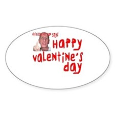 Pissed Off Valentine Decal