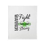 WarriorNonHodgkinsLymphoma Throw Blanket