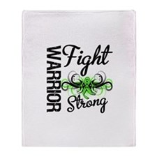 Fight Non-Hodgkin's Lymphoma Throw Blanket