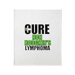 Cure Non-Hodgkin's Throw Blanket