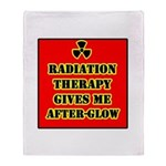 Radiation Therapy Throw Blanket