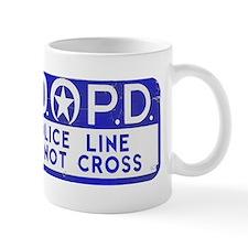 New Orleans NOPD Police Line Mug