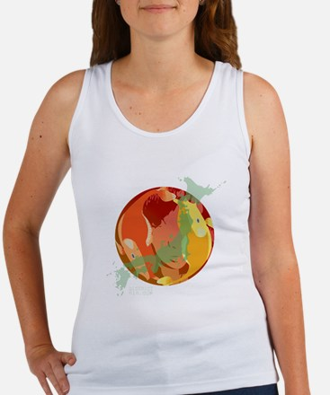 LOOKING THROUGH THE FISH BOWL Women's Tank Top