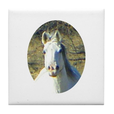Horse Head Tile Coaster