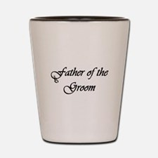 Father of the Groom Shot Glass