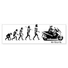 SUZUKI BURGMAN EVOLUTION Bumper Sticker