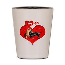 Funny Cupid Shot Glass