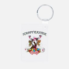 Easter Doxies Keychains