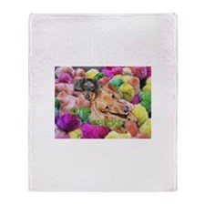 Cute Chicks Throw Blanket
