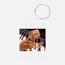 Music Dad Keychains