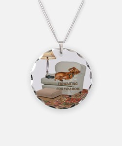 TV Doxie Necklace