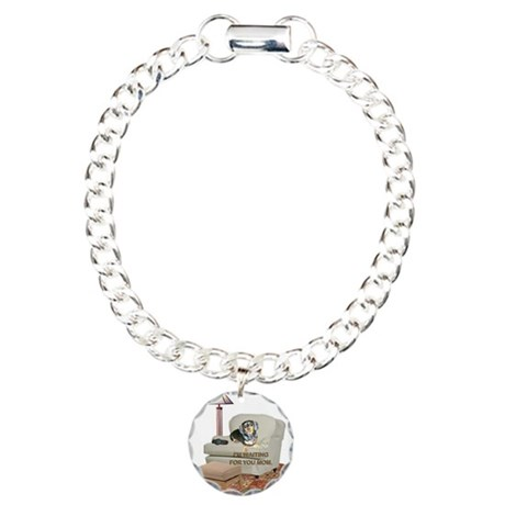 TV Mom Doxie Charm Bracelet, One Charm