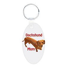 Doxie Mom 2 Keychains