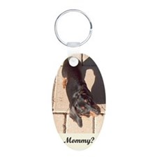 Mothers Day Dachshund Dogs Keychains