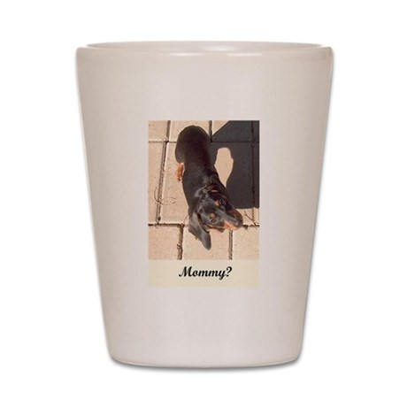Mothers Day Dachshund Dogs Shot Glass
