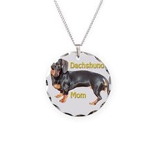 Dachshund Mom Necklace