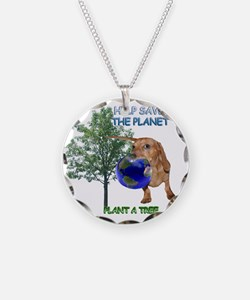 Tree Doxie Necklace