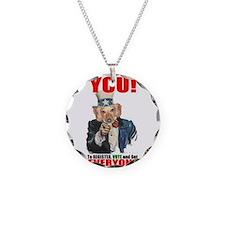 Uncle Sam Vote Necklace