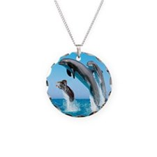 Doxie & Dolphins Necklace