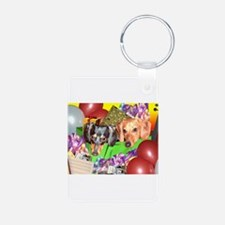 Party Animals Dachshunds Dogs Keychains