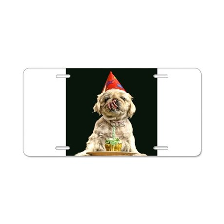 Birthday Boy Aluminum License Plate
