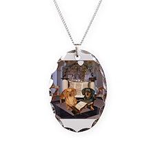 Jewish Dachshunds Necklace