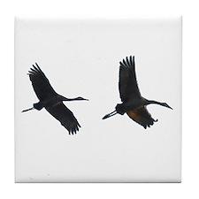 As The Bird Flies Tile Coaster