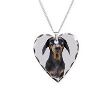 Crying Doxie Necklace