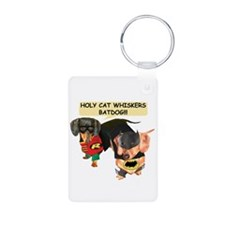 Batdog and Sidekick Keychains