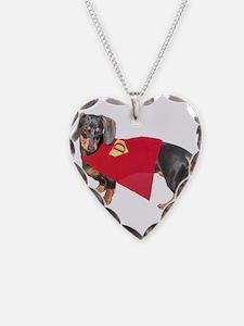Super Dachshund Dog Necklace